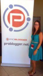 Reeva at Problogger Perth